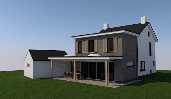 Aanbouw en verbouw woning te Lathum.