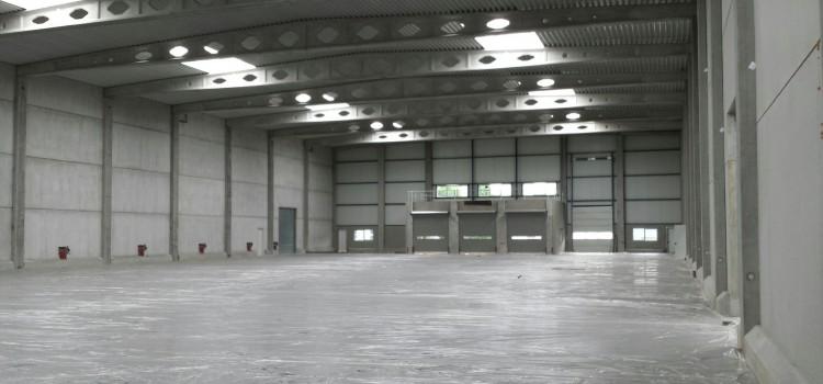 Debo 's-Heerenberg warehouse met vloerverwarming